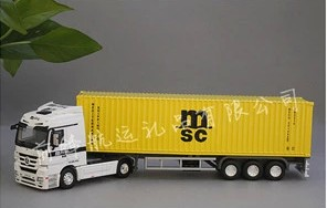 1:50 MSC Diecast Alloy Truck Model|Trailer Model