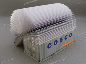 COSCO Container Memo|Paper Cube|Container Note