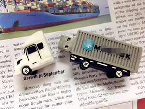 M*E*SK Truck USB|Truck Shape Flash Memory