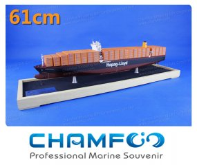 61cm HAPAG LLOYD HAMBURG EXPRESS Diecast Alloy Container Ship