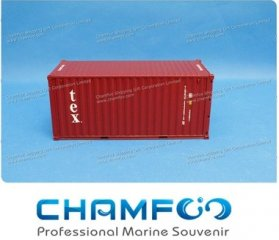 1:30 TEX Diecast Alloy Container Model|Miniature Container