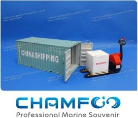 1:30 CHINA SHIPPING Diecast Alloy Container Model