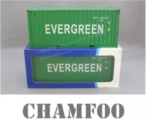 1:30 EVERGREEN Diecast Alloy Container Model|Scale Container