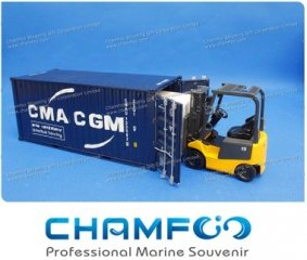 1:30 CMA CGM Diecast Alloy Container Model|Scale Container