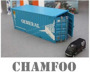 1:30 GENERAL Diecast Alloy Container Model|Scale Container