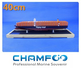 40cm Hapag Lloyd Diecast Alloy Container Ship Model