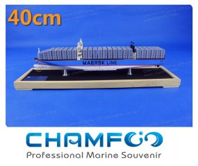 40cm MAJESTIC MAERSK Diecast Alloy Container Ship Model