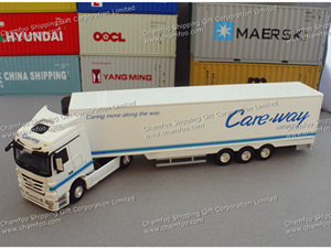 1:50 Careway Alloy Truck Model|Reefer Truck Model