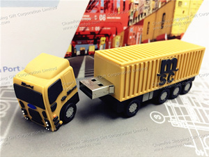 MSC Truck USB|Truck Shape Flash Memory