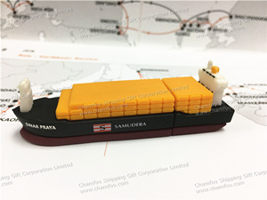 SAMUDERA Container Ship USB|Ship Shape Flash Memory