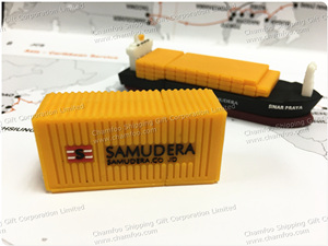 SAMUDERA Container USB|Container Shape Flash Memory
